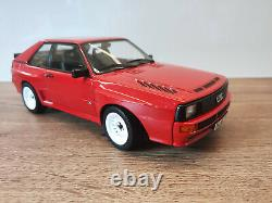 118 NOREV Audi Sport Quattro short red rouge Limited Edition 500 pieces NEW