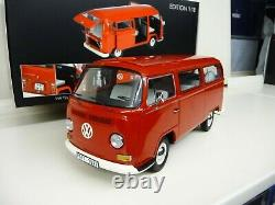 118 Schuco VW T2 T2a Bus rot Limited Edition 500 pieces 450019600 NEW