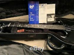 2002 Gibson USA Limited Edition TONY IOMMI Signature SG Rare Collector Piece