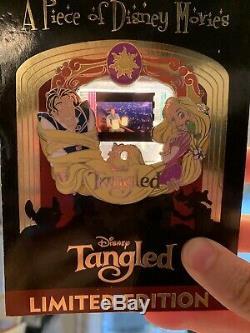 A Piece Of Disney Movies Pin Rapunzel Flynn Rider Lanterns Limited Edition