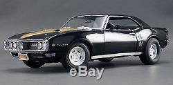 Acme 1/18 1968 Pontiac Firebird Blackbird Ltd Ed 948 Pieces A1805201