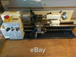 Amadeal Ltd CJ18A Mini Lathe 4'' 7x14 DRO Machine Chuck 3 Pieces