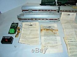 American Flyer Set #k5418t Passenger Set From 1954 With Platform Pieces Postwar