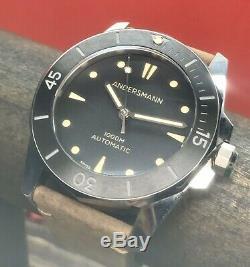 Andersmann OceanMaster 1 Limited Edition 100 Pieces Swiss ETA 1000m 47mm Ceramic