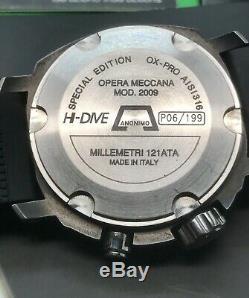 Anonimo Opera Meccana Special Edition MOD 2009 Hi Dive Limited 199 Pieces 1200m