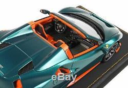 BBR 1/18 Cod P18162H1FERRARI PISTA 488 VERDE PINO Green! LTD 24 Pieces NEW