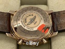 BREITLING NAVITIMER 18ct ROSE GOLD 42mm CHRONO R23322 LTD EDITION 500 PIECES B&P