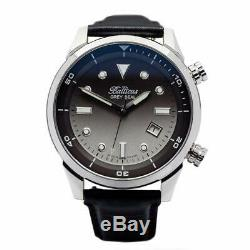 Balticus Men's Automatic Watch Grey Seal with Date Limited Edition of 100 pieces