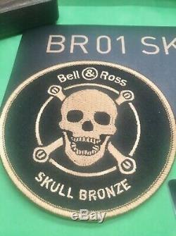 Bell & Ross Bronze Skull BR01 BRONZO Swiss Automatic Limited Edition 500 Pieces