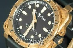 Bell & Ross Diver Bronze Limited Edition 2021 666 Pieces Full Ref. BR V2-93 GM