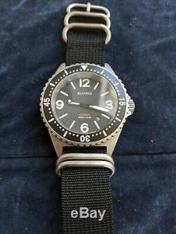 Benarus Mil Diver Limited Edition Automatic 45mm Blasted 42/50 pieces Rare