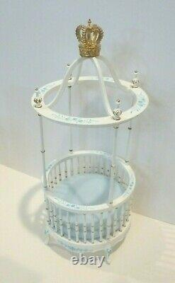 Bespaq Dollhouse Miniature Prince George 4 Piece Nursery Set 2773 Set Ltd Ed