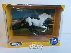 Breyer 70th Anniversary CHASE PIECE Limited Edition Black Pinto #1825