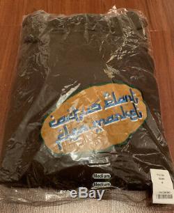 CPFM Cactus Plant Flea Market Brown Patch Hoodie Size MEDIUM Limited Edition