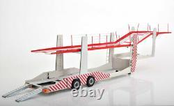 Car Transporter 6 Car Trailer 118 Scale Metal Fantastic Display Piece Rare New