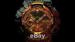Casio G-Shock X One Piece Limited Edition Resin Watch GA-110JOP-1A4 In Hand