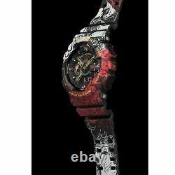 Casio G-Shock x One Piece Men's GA110JOP-1A4 Digital Analog Watch Black One P