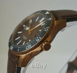 Christopher Ward Trident Pro 600 Bronze COSC Chronometer, Limited To 300 Pieces