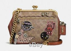 Coach 1941 X Keith Haring Kisslock Crossbody Patchwork f31069 LIMITED EDITION