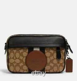 Coach Graham Crossbody In Signature Jacquard With Stripe And Coach Patch