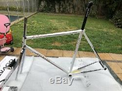 Colnago Master Addidas + Size. Rare Limited Edition 56cm Frame (1 of 105 pieces)