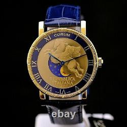 Corum Lunar Pegasus Limited Edition 499 pieces 18 kt gold 40 mm New box & papers