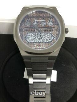 D1 Milano Kaaba Limited Edition Ultra Thin Watch, 700 Pieces Only