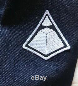 DAFT PUNK$650 LIMITED EDITION Denim trucker patch embroidered merch size M