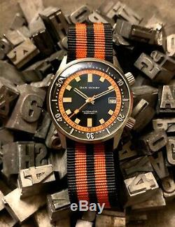 Dan Henry 1970 Dive Watch LIMITED EDITION (1970 pieces) 40mm Automatic Orange