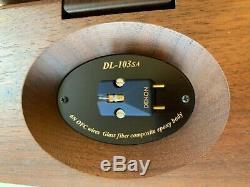 Denon DL-103SA MC phono cartridge Limited Edition 2000 pieces made