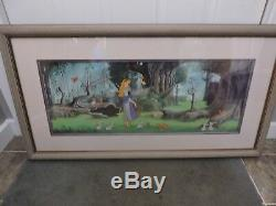 Disney Sleeping Beauty Limited Edition Cel 80/500 From 1992, Beautiful Piece