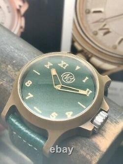 ENNEBI Fondale Kairos Bronzo Green 9685 Limited Edition 33 Piece Automatic 1000m
