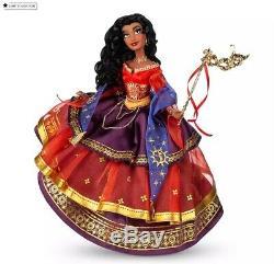 ESMERELDA Midnight Masquerade Disney Store Designer Series Doll LTD 5200 pieces