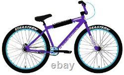 Eastern Big Reaper 26 LTD Bicycle Freestyle BMX Bike 3 Piece Crank Purple NEW