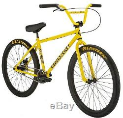 Eastern Growler 26 LTD BMX Bicycle Bike 3 Piece Crank Chromo Frame 2020 Yellow