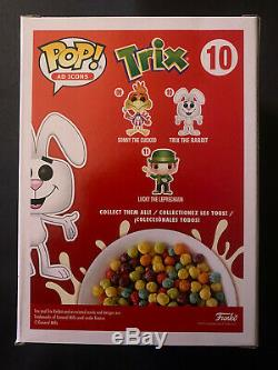 Funko Pop Ad Icons Trix Rabbit 10 Flocked Limited Edition 3500 Pieces