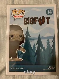 Funko Pop Bigfoot Brown Flocked ECCC 2018 Limited Edition 3000 Piece