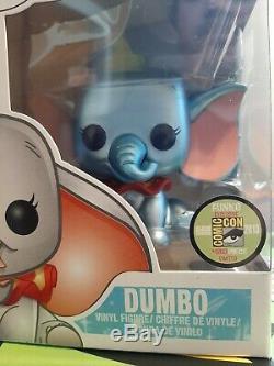Funko Pop Disney 2013 Sdcc Metallic Dumbo 480 Pieces Limited Edition Comic Con
