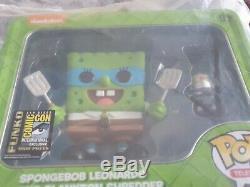 Funko Pop Spongebob Leonardo SDCC 2014 LTD 1000 Pieces Rare still in package