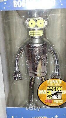 Funko Wacky Wobbler Sdcc Futurama Bender 240 Pieces Limited Edition