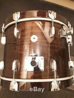 GRETSCH USA CUSTOM 4 Piece drum kit Ltd edition colour antique curly maple