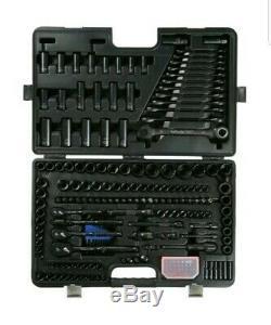 Halfords Advanced 200 Piece Black Limited Edition Socket & Ratchet Spanner Set