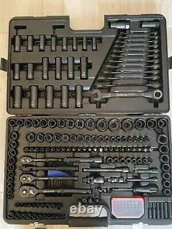 Halfords Advanced Pro Socket Set 200 Piece (limited Edition Brand New In Black)