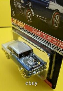 Hot Wheels RLC 2016'55 Chevy Bel Air Gasser with Patch and Button