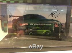 Hot Wheels Tfox Autographed Nissan GT-R R35 Guaczilla With A Piece Of Car
