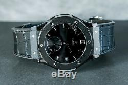 Hublot Classic Fusion Power Reserve All Black Ceramic 8 Days Only 500 Pieces