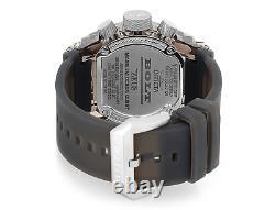 Invicta 52mm Bolt Zeus Magnum Anatomic Swiss Chrono Watch with4-Piece Strap Bundle
