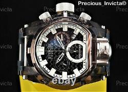 Invicta Reserve 52mm Bolt Zeus Magnum Anatomic Swiss Watch with 4-Piece Strap Set