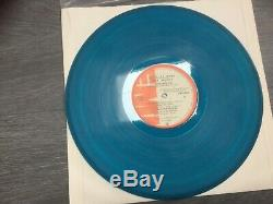 Iron Maiden Piece of Mind Colombia blue promo Ultra rare