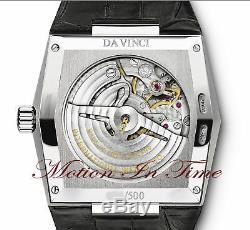 Iwc Vintage Da Vinci Automatic Platinum Rare Limited Edition 500 Pieces Iw546105